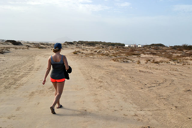 Roadtrips och kitesurfing i Ponta Antonio