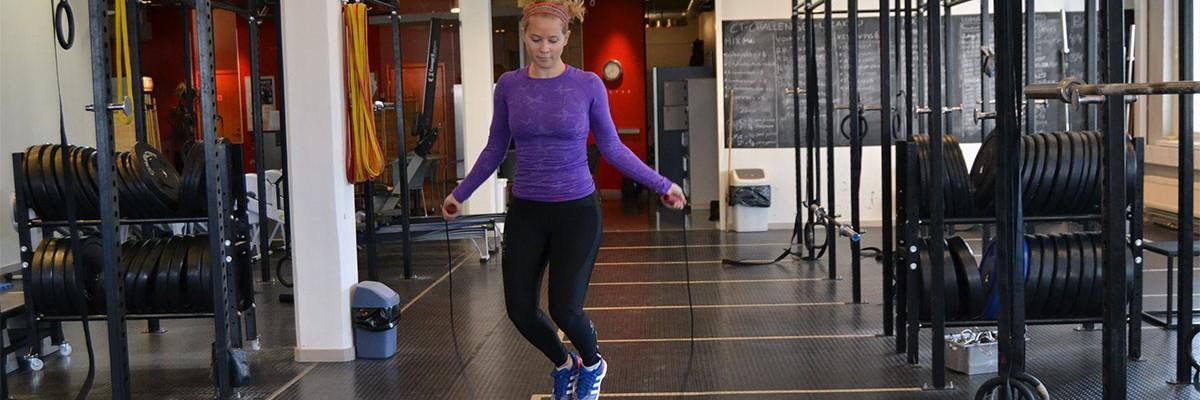 Veckans övning: Hoppa hopprep