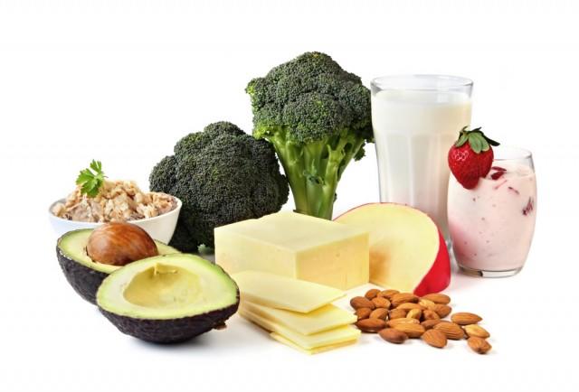 kalcium och mjölk