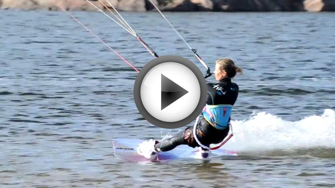 Kitesurfingvideo från sommaren