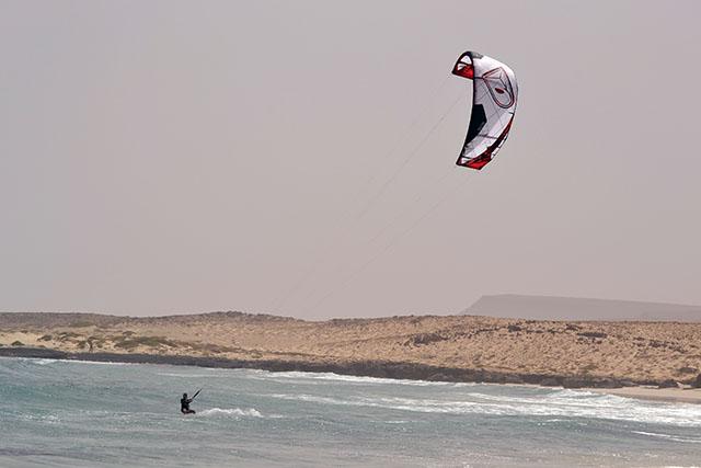 Kitesurfing ponta antonio