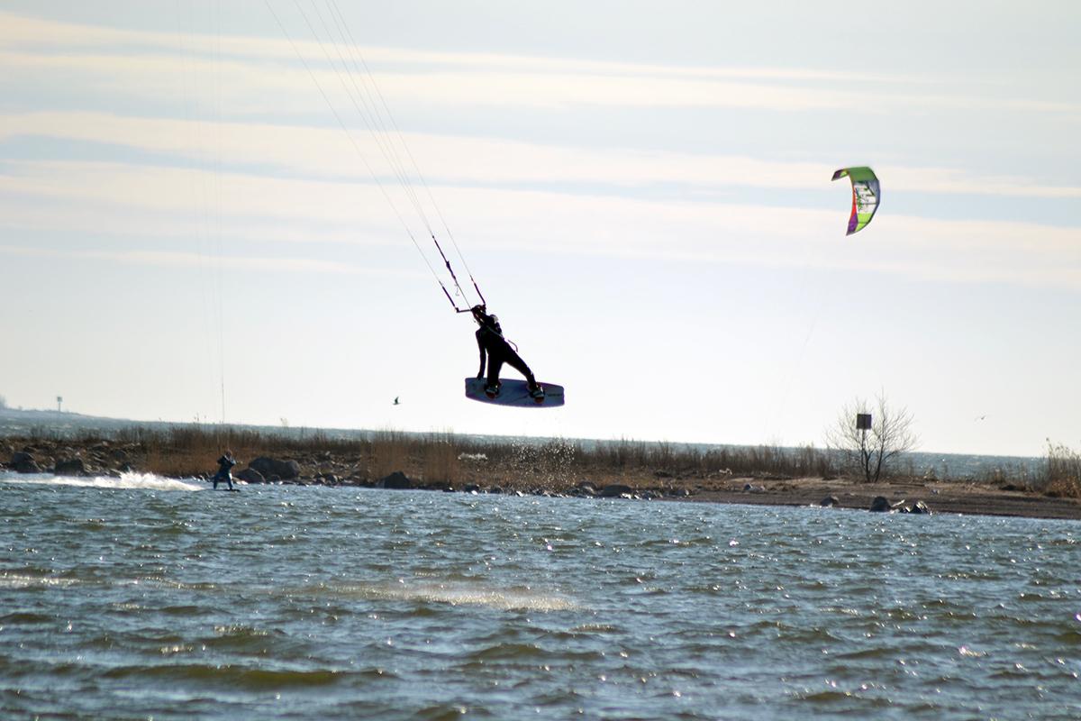 Kitesurfingsäsongen är här!