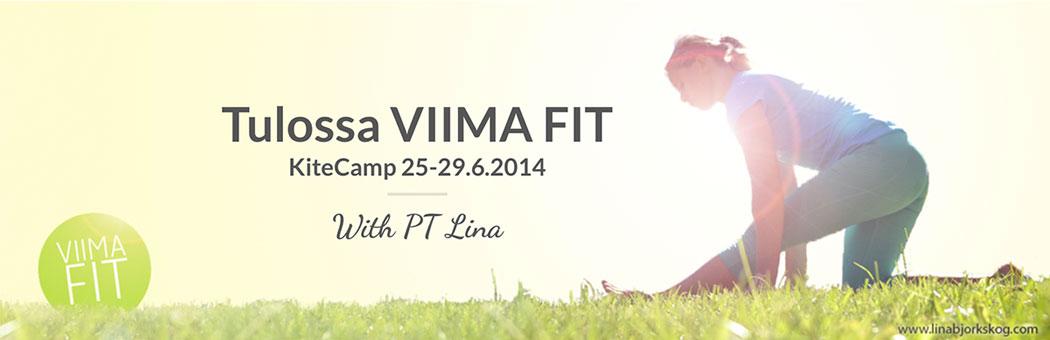 Viima Fit Kitecamp – tränings- och kitesurfingläger i Danmark 25 – 29.6.2014