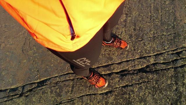 löpning orange