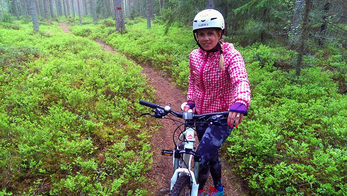 Mountainbike i Fäbodaskogarna