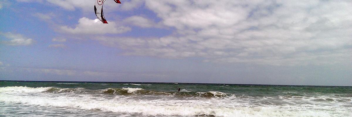 Kitesurfing och roadtrip på Kreta