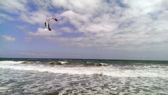 kreta kitesurfing