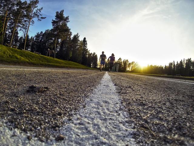 springa Larsmo Vandringsled