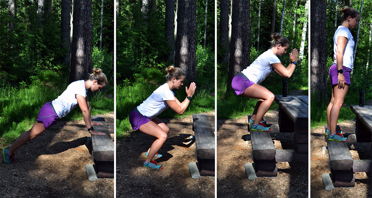 Nytt träningsprogram till uteträningen i sommar