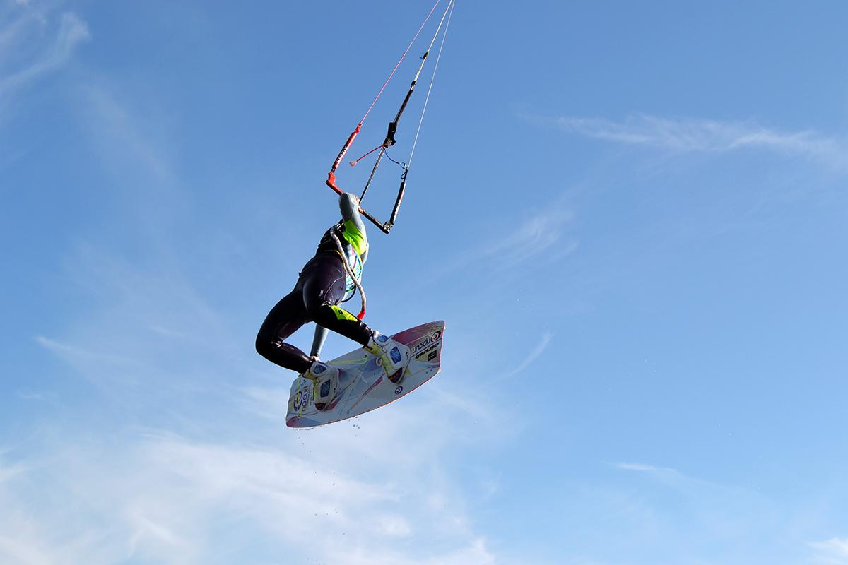 Kitesurfing och mental träning