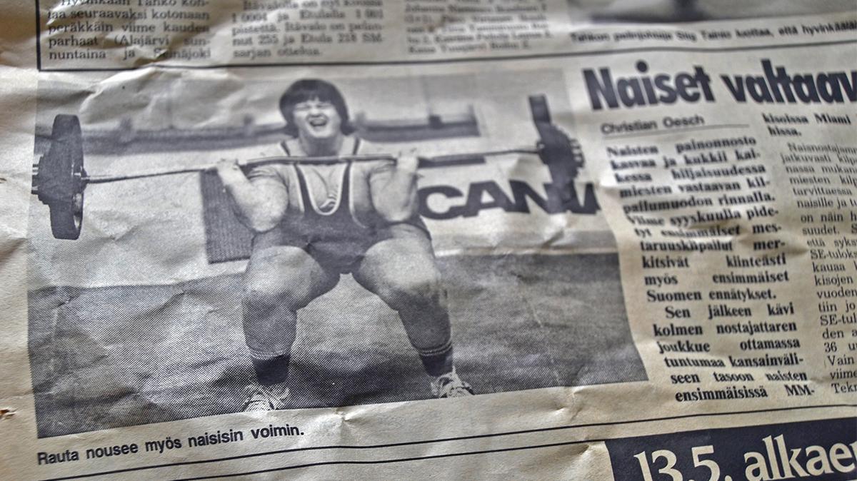 1988 – året då kvinnor började träna styrka
