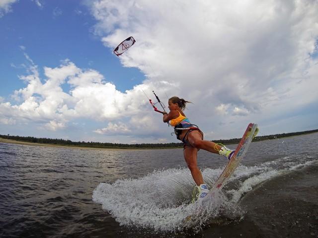 Lohtaja kitesurfing