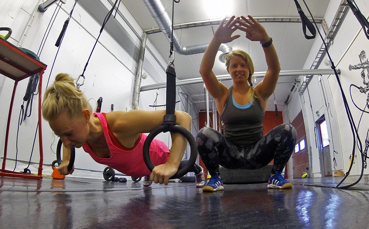 Styrketräning med kompis - tisp på träningsprogram