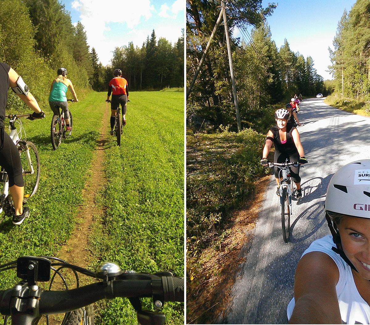 Mountainbiking i Jakobstad