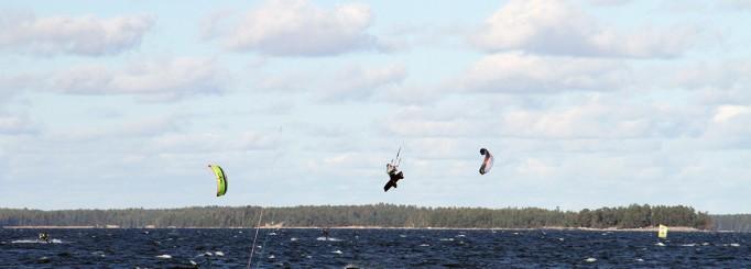 Kitesurfingbilder från helgen