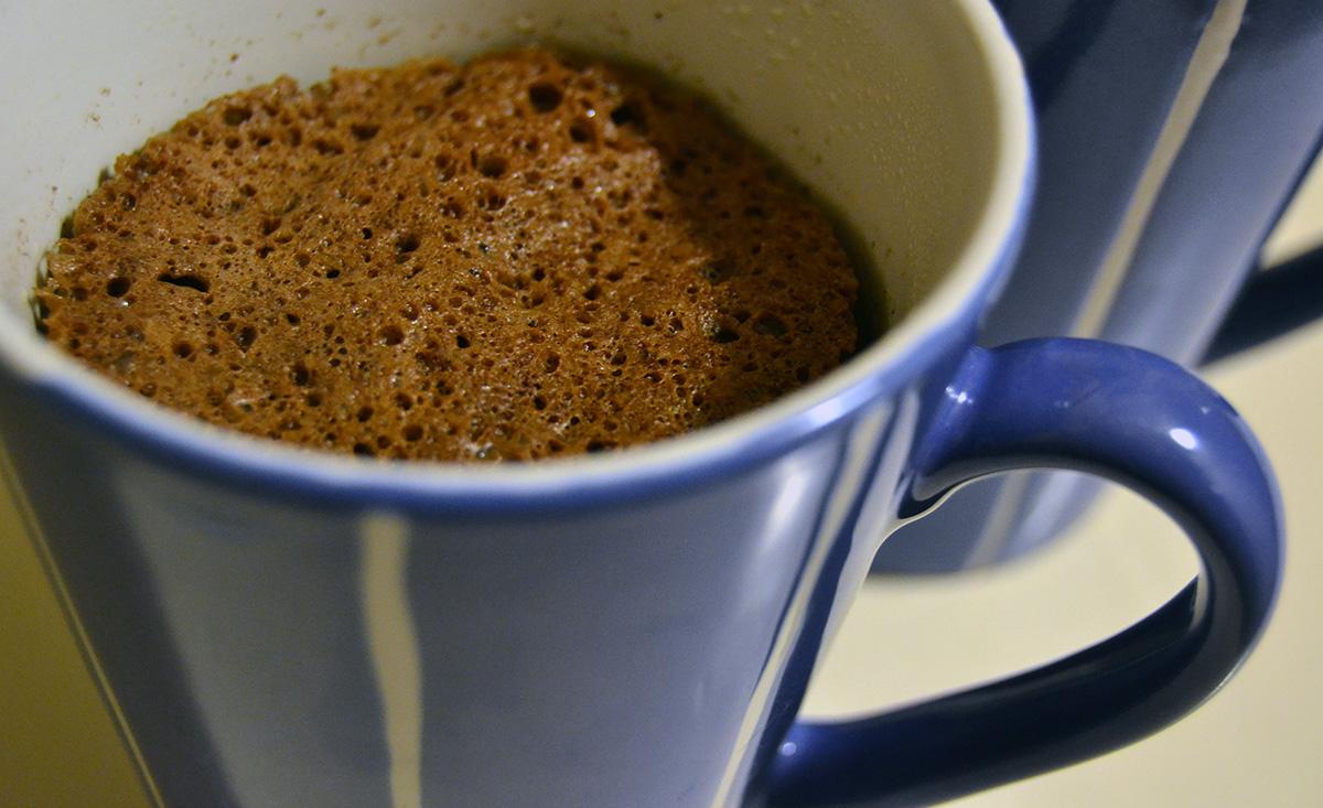 Efterlyser bra recept på mugcake