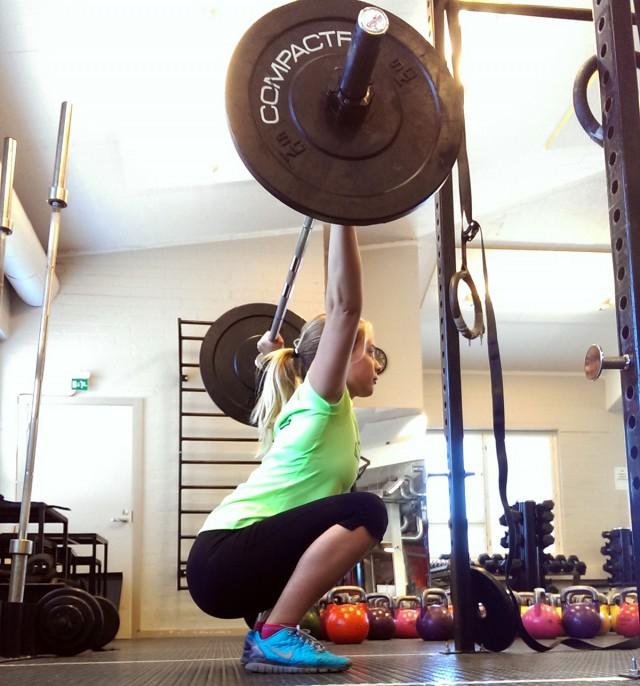 over head squat rörlighet