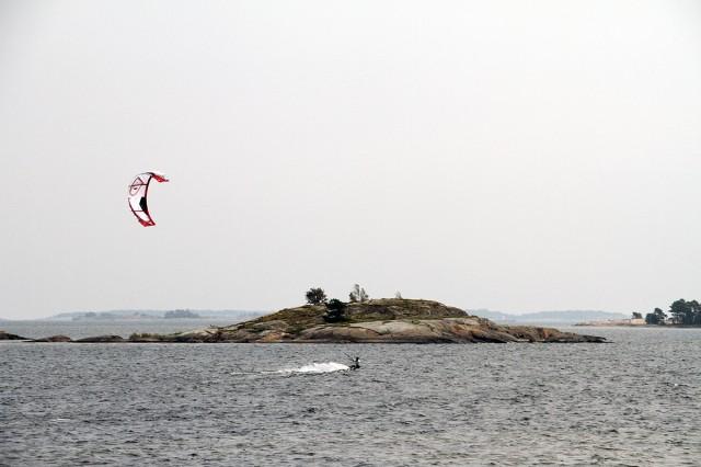 secret kitesurfing hangö