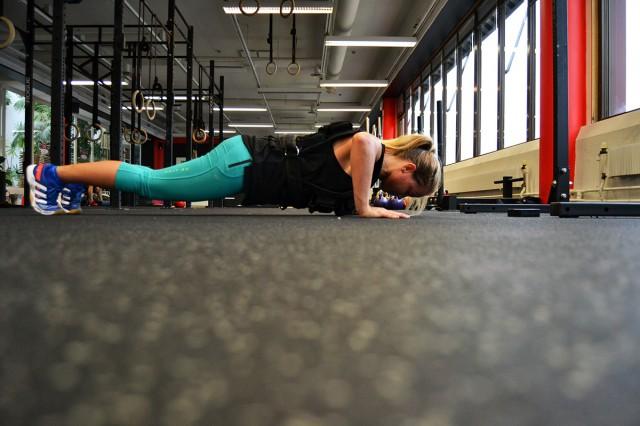 armhävningar träna styrka