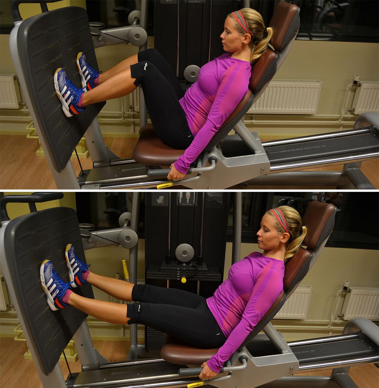 träning gym övningar