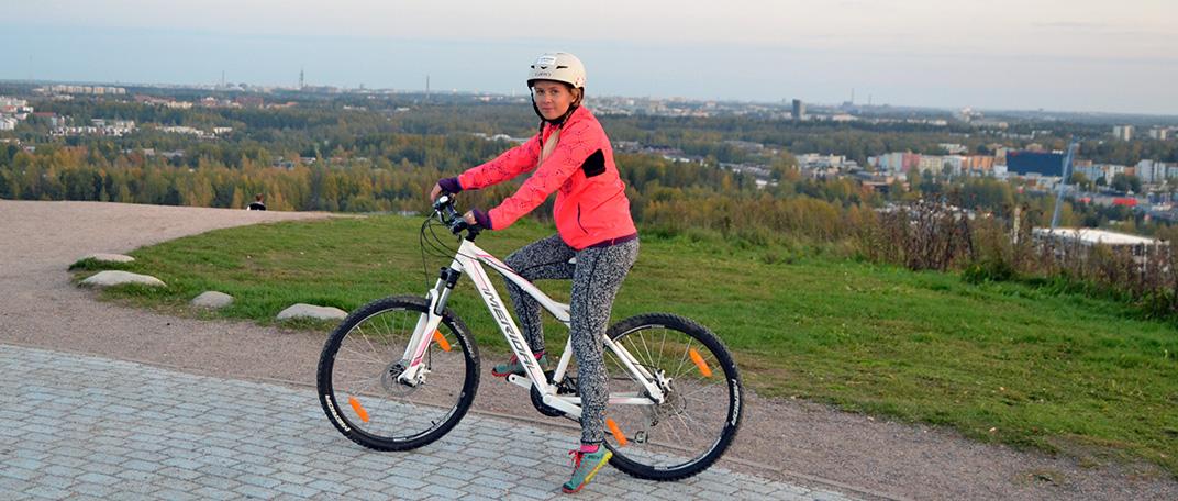 Downhill mountainbiking i Malmgård