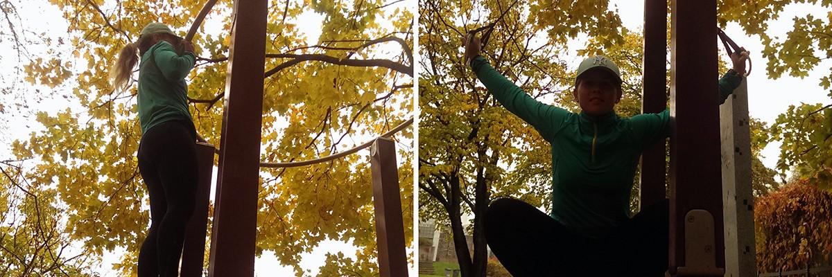Från disigt oktoberväder till sommar och sol