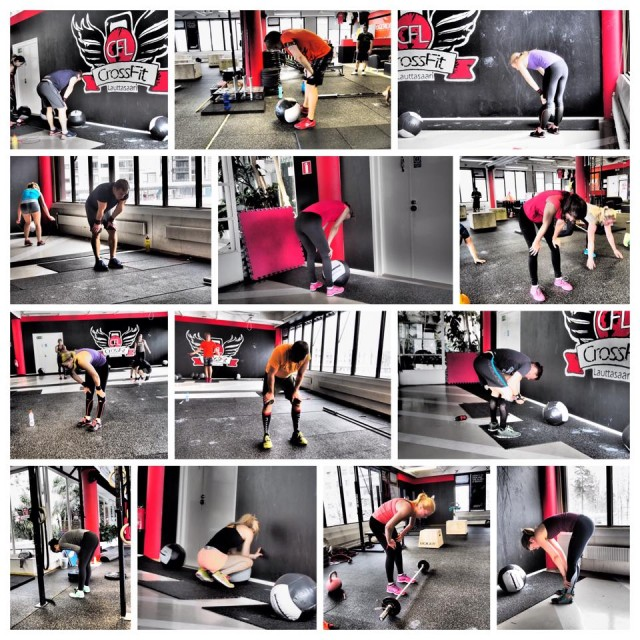 Filty fifty crossfit