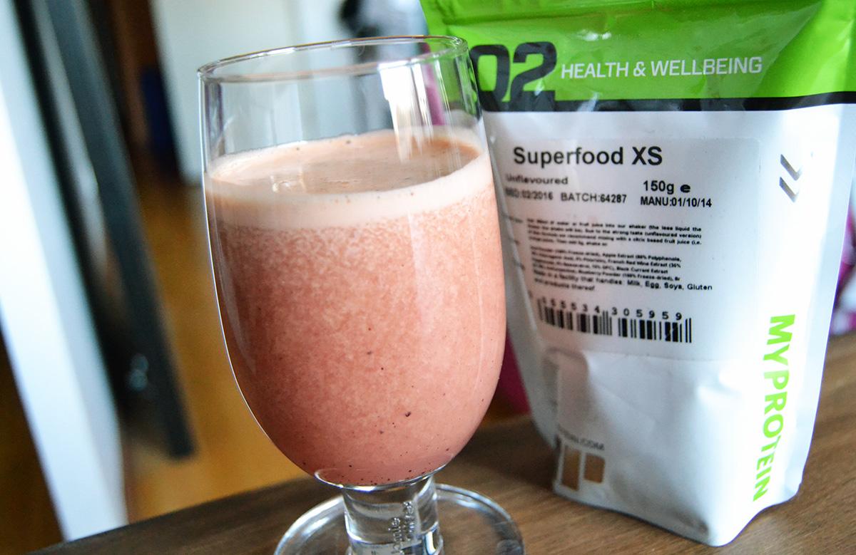 Hemlagad hälsosam juice