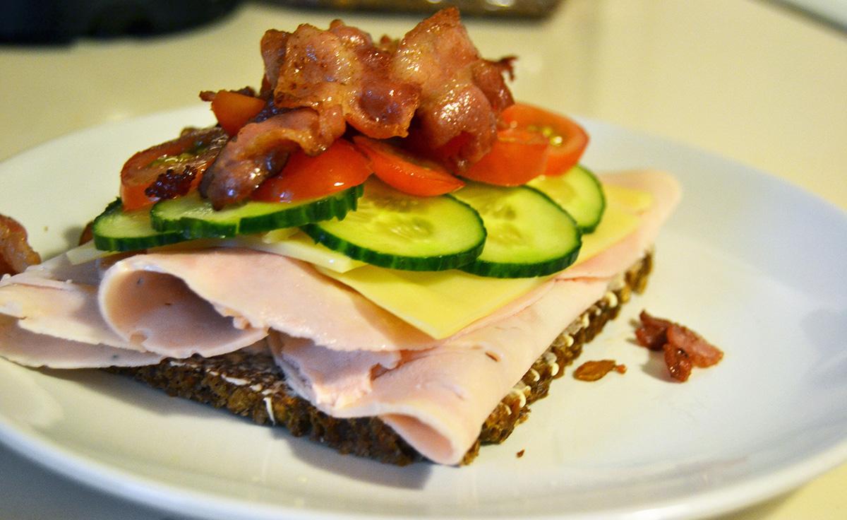 Hälsosam smörgås