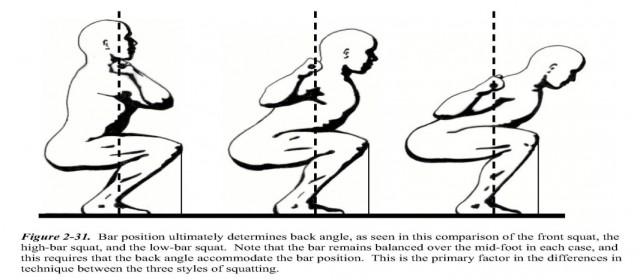frontsquat vs backsquat