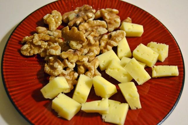 Nyttigt mellanmål nötter