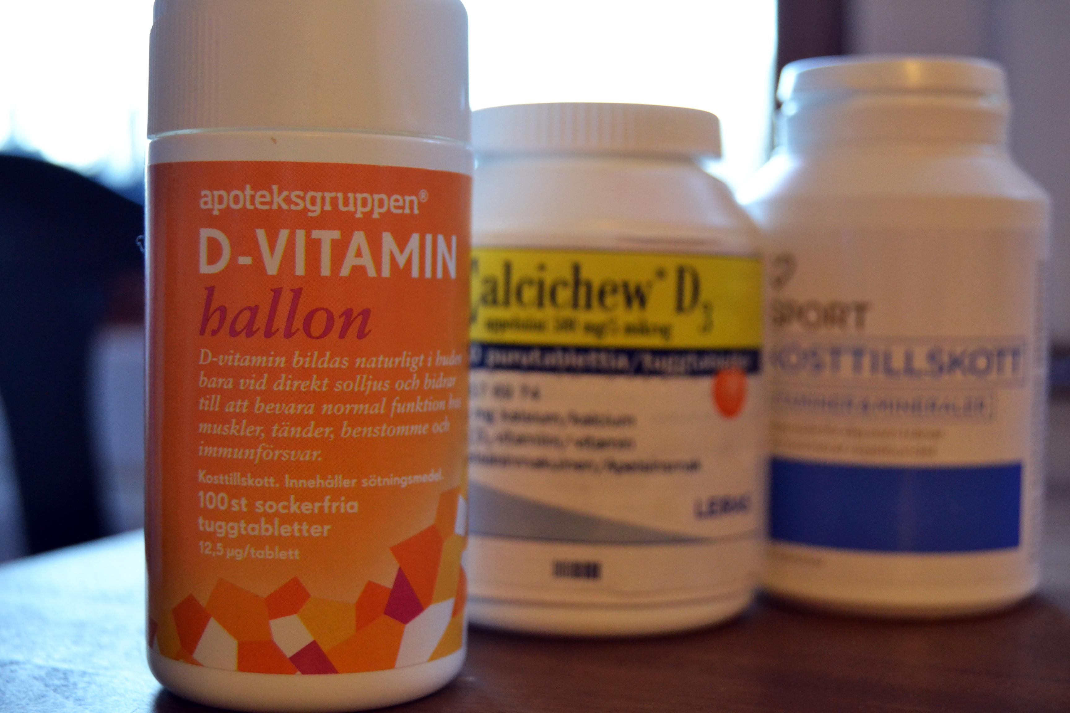 d-vitamin brist