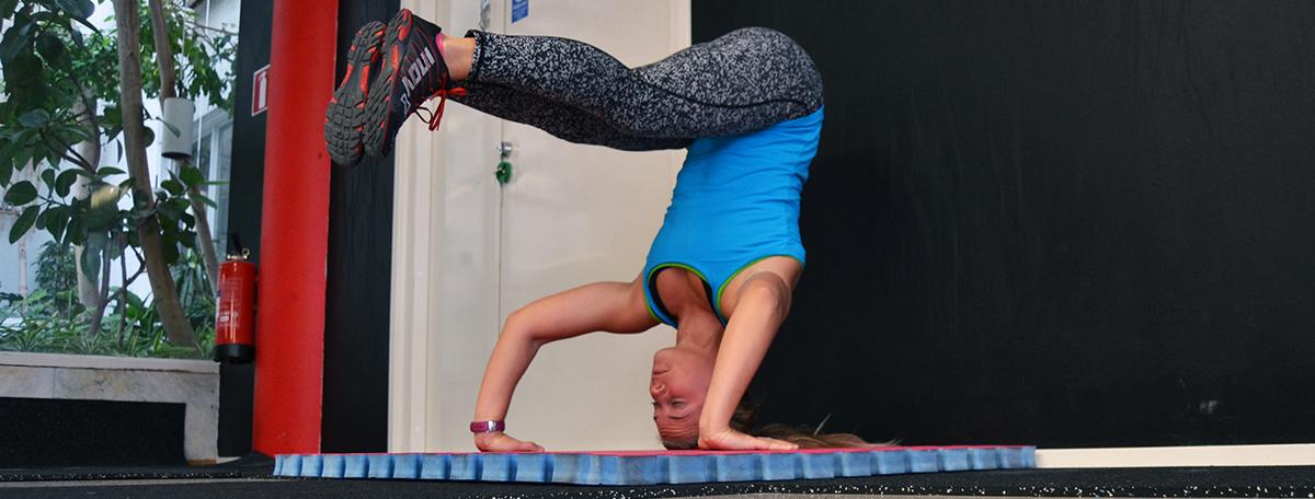 Veckans utmaning: Gymnastisk träning med videotips