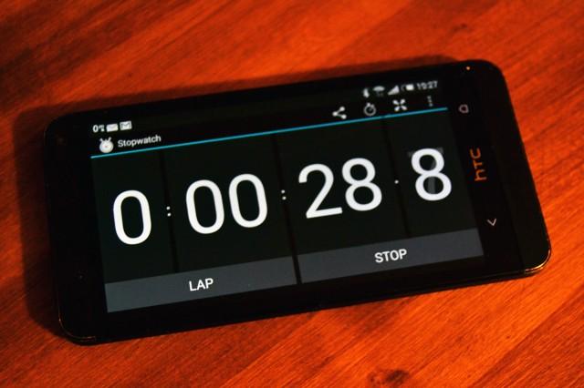 stopwatch timer AMRAP