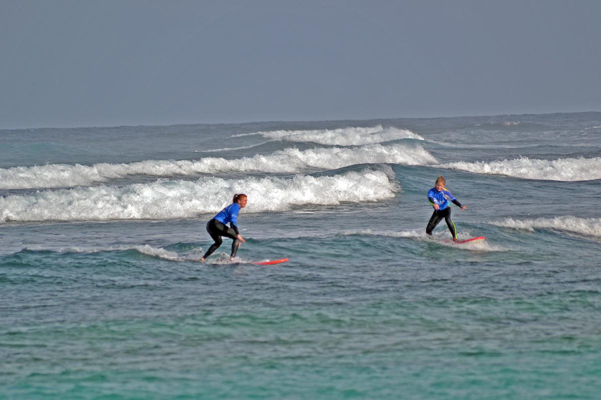 surfing Fuerteventura