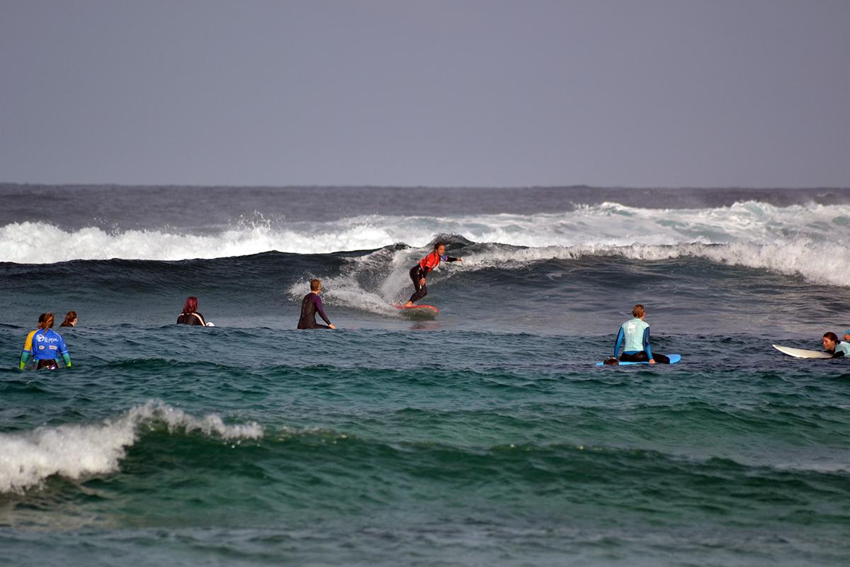 Surf, kitesurf, eat, sleap, repeat