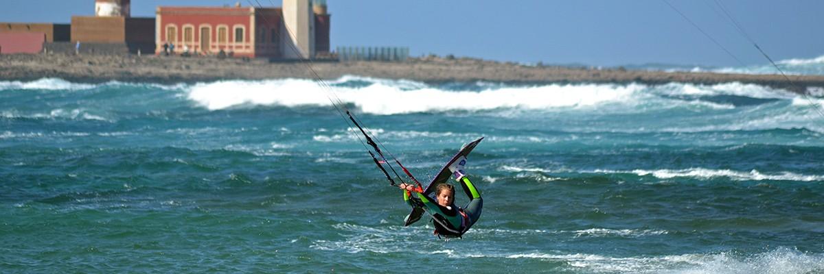 Kitesurfing på Fuerteventura