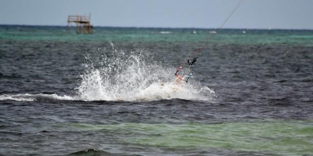 kitesurfing hålla andan