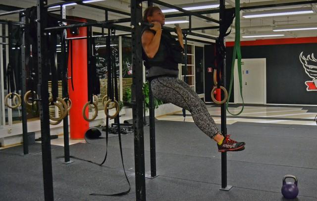 pull-ups extra vikt