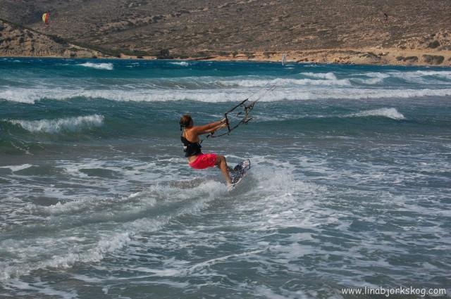 Rhodos kitesurfing