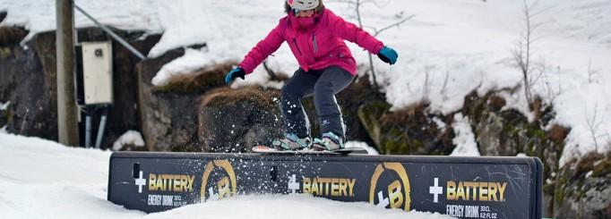 Snowboarding + Talma + vänner = en rolig lördag!