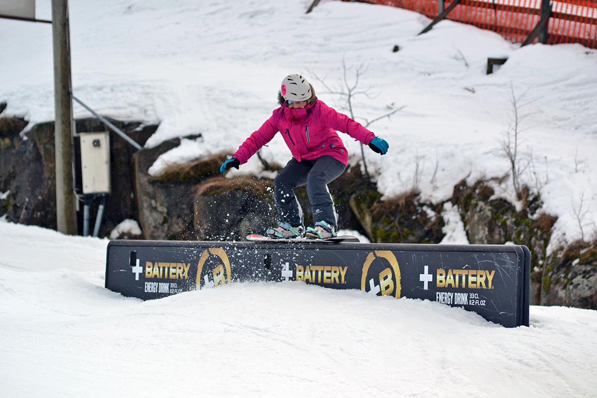 snowboarding talma