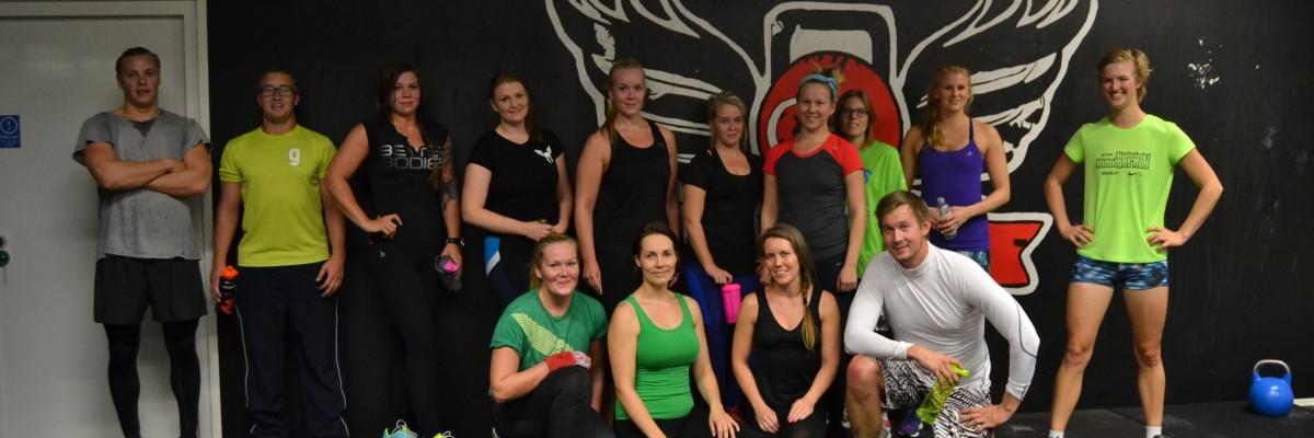 Favorit i repris: Gratis träningspass med mig på CrossFit Lauttasaari
