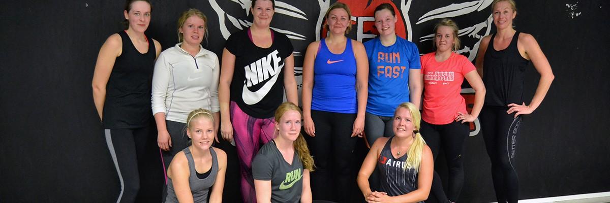 CrossFit-träningspass med bloggläsare
