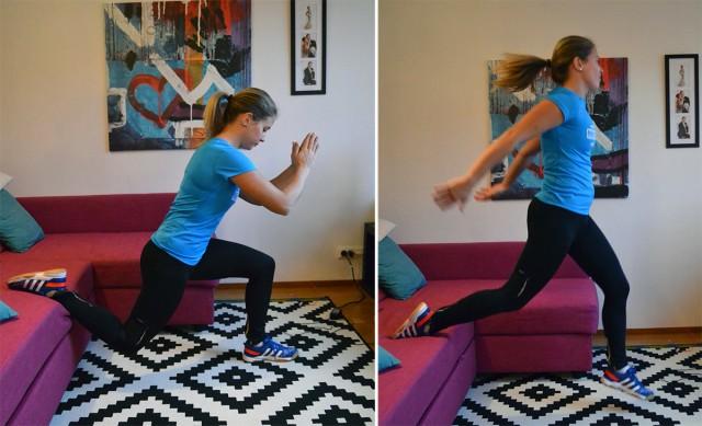 Benträning hemma övningar