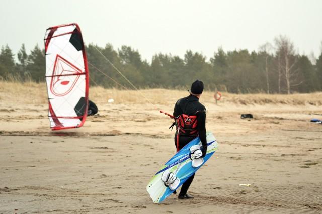 kitesurfing mars