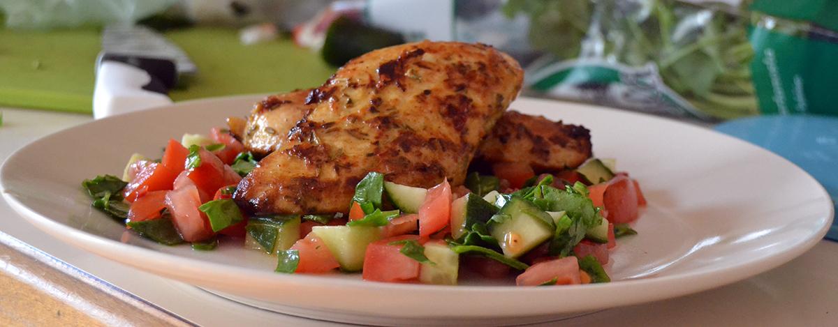 Veckans utmaning: Satsa på bra och hälsosam mat!