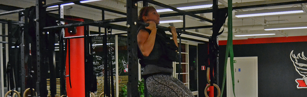 Veckans utmaning: Lär dig pull-ups!