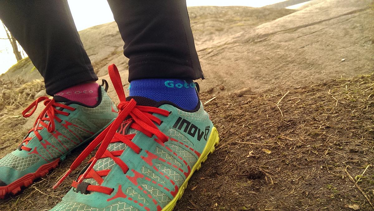 Rocka sockorna på löprundan