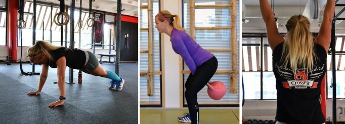 Utmana mig i dagens CrossFit-träningspass!